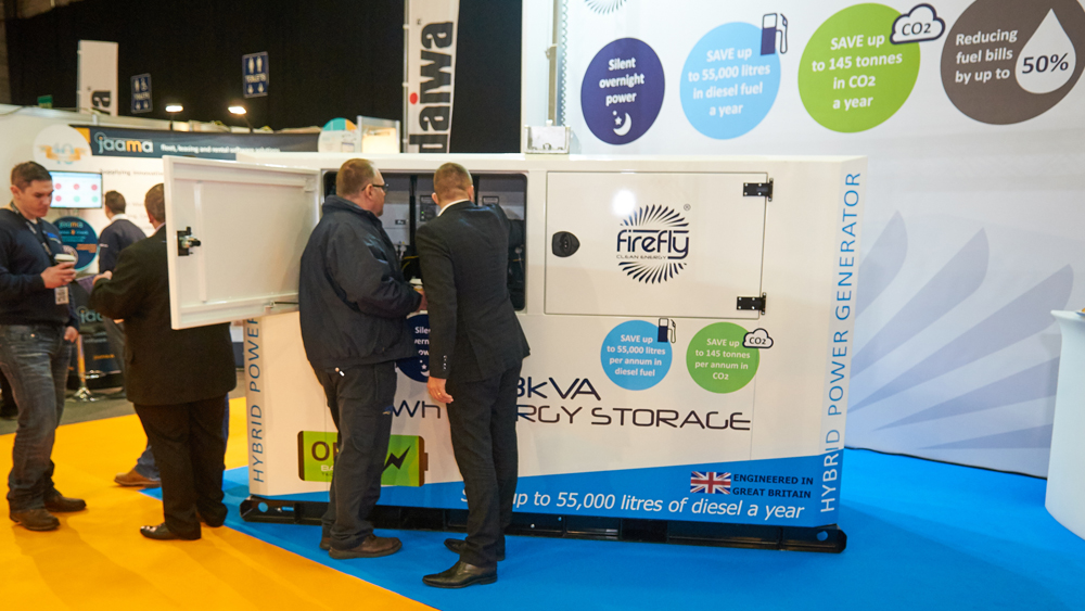 Firefly Cygnus Four Hybrid Power Generator Executive Hire Show