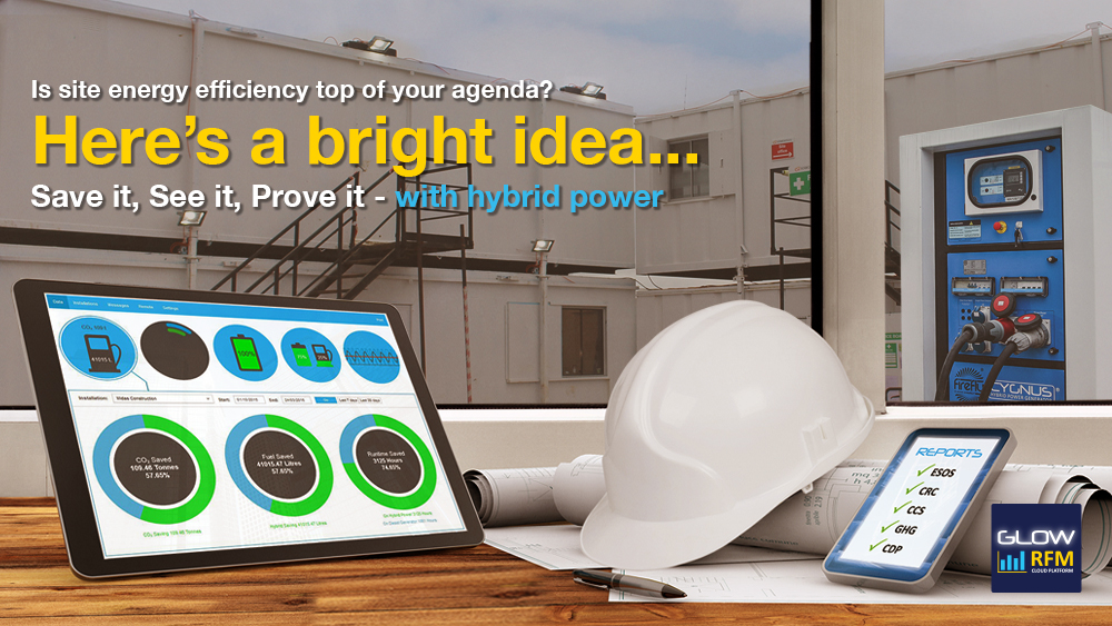 Construction Site Energy Efficiency Management - GLOW RFM