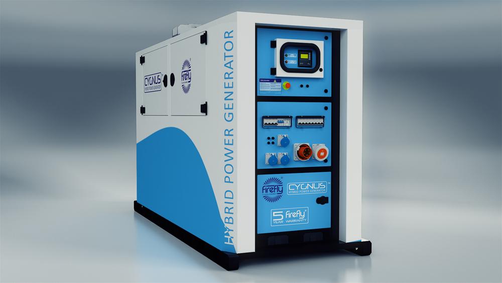 Firefly Cygnus 4 Hybrid Power Generator