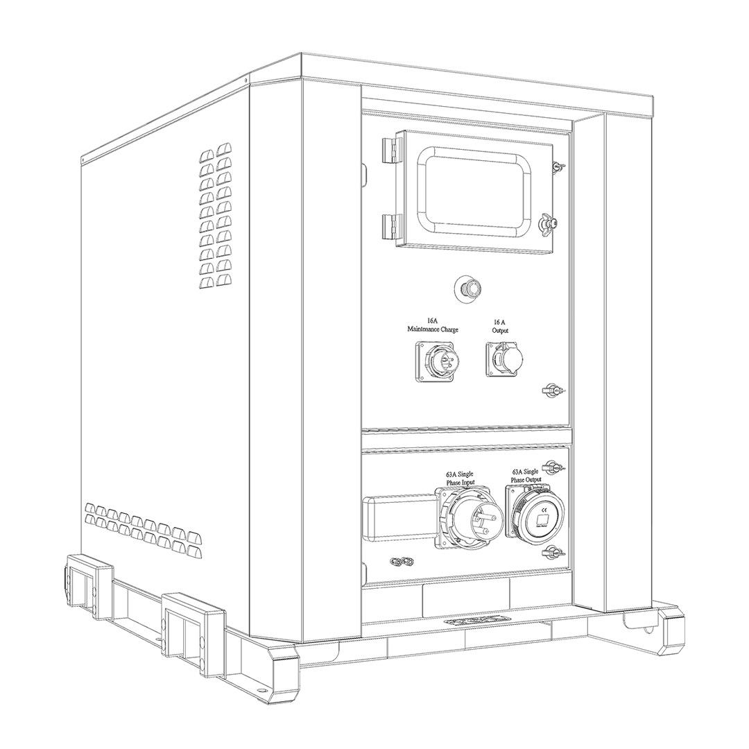 Firefly CYGNUS 2 Hybrid Power System (Line Drawing)